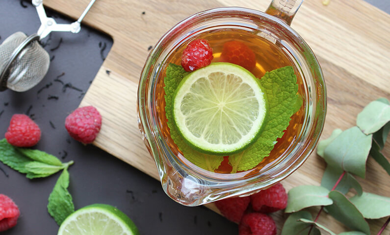 Raspberry Lime Iced Tea Jenny Craig